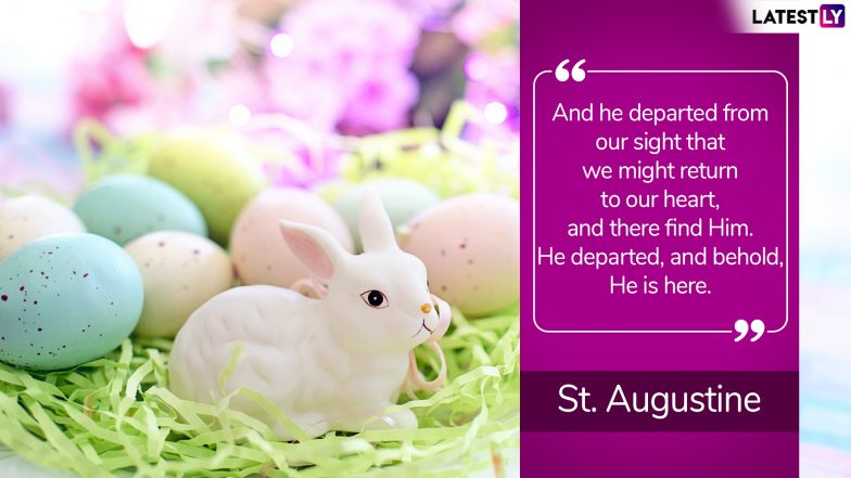 Easter 2019 Quotes: Easter Sunday HD Images & Inspirational Sayings to Share With Your Dear Ones This Joyous Occasion for Christians