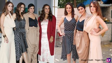 Sonali Bendre Shoots for a Special Episode of Vogue BFFs with Besties Sussanne Khan and Gayatri Oberoi - View Pics