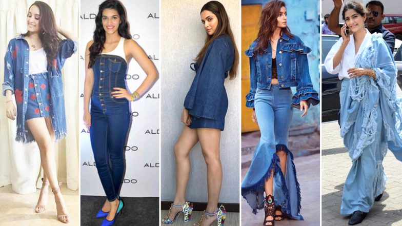 Denim Day 2019: From Sonam Kapoor to Alia Bhatt and Deepika Padukone, Have a Look at Celebs Who Love Slaying in This Fabric - View Pic