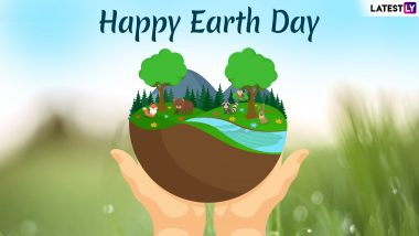 Earth Day 2019 Images & HD Wallpapers for Free Download Online: Wish Happy Earth Day With GIF Greetings & WhatsApp Stickers