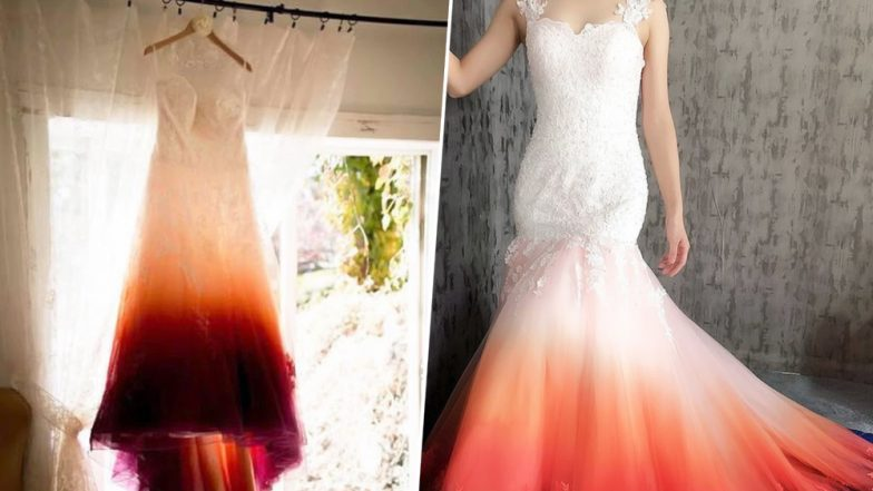 Bride Slammed for Her 'Period-Stain' Tampon Bridal Dress That Is Going Viral Online!