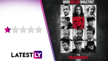 The Tashkent Files Movie Review: Vivek Agnihotri's Political Thriller Feels Less a Movie, More a Badly Staged Drama