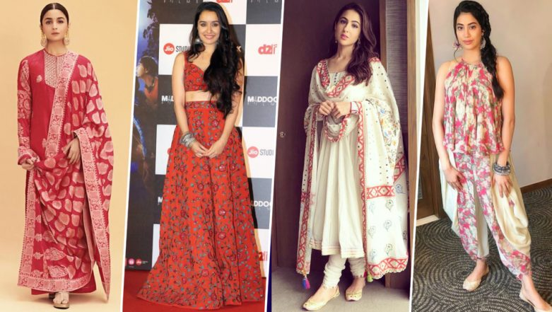 Baisakhi 2019: From Alia Bhatt to Sara Ali Khan, Take Some Essential Styling Cues to Dress Up this Festive Season - View Pics
