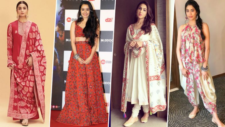 Baisakhi 2019: From Alia Bhatt to Sara Ali Khan, Take Some Essential Styling Cues to Dress Up this Festive Season - View Pics