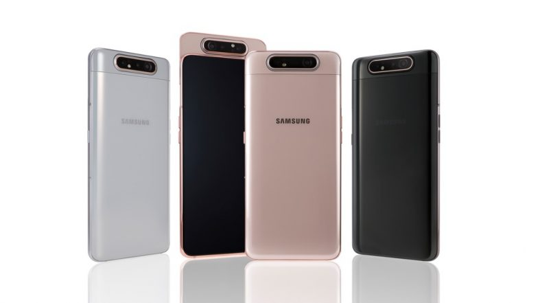 Samsung Galaxy A80 Smartphone With Rotating Triple Camera Launched; Coming To India Soon