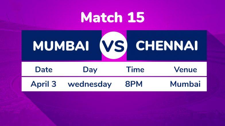 MI vs CSK, IPL 2019 Match 15 Preview: Chennai Super Kings Favourites Against Mumbai Indians in Clash of Titans