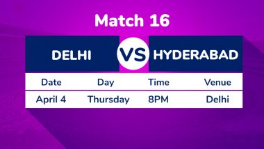 DC vs SRH, IPL 2019 Match 16 Preview: In-Form Sunrisers Hyderabad Hold Edge Against Erratic Delhi Capitals