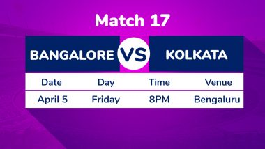 RCB vs KKR, IPL 2019 Match 17 Preview: Downbeat Royal Challengers Bangalore Desperate For Win Against Kolkata Knight Riders