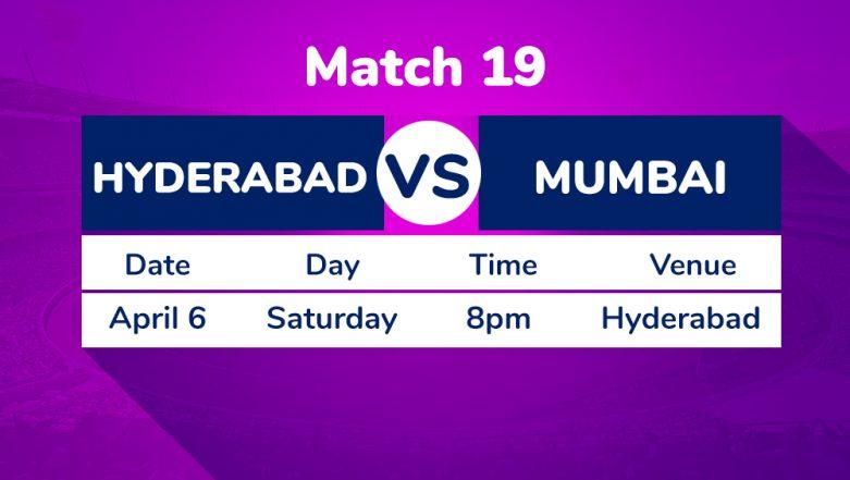 SRH vs MI, IPL 2019 Match 19 Preview: Battle of Equals as Sunrisers Hyderabad Face Resurgent Mumbai Indians at Rajiv Gandhi International Stadium