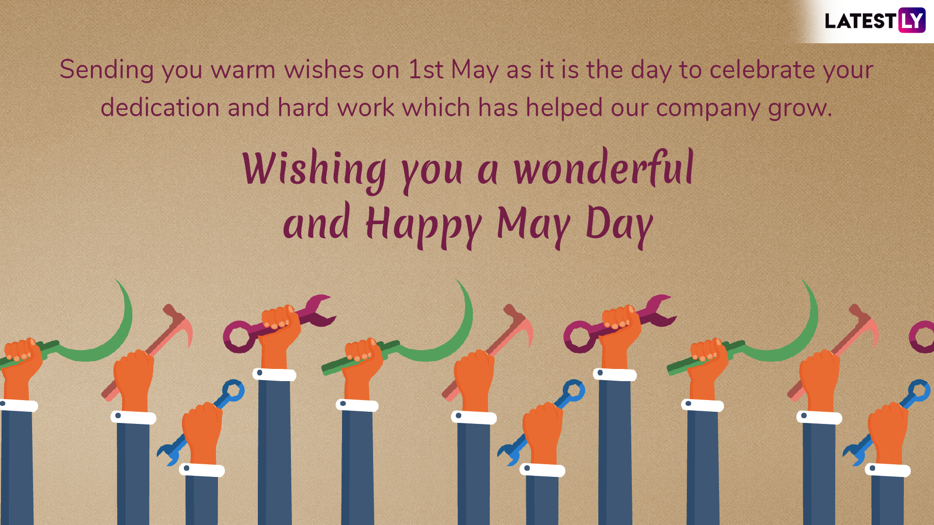 Happy May Day 2019 Wishes & Quotes: Best Labour Day WhatsApp