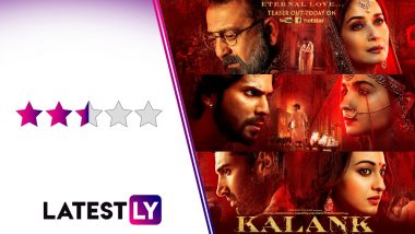 Kalank Movie Review: Alia Bhatt, Varun Dhawan, Kunal Kemmu Shine in a Beautifully-Framed but Dull Love Saga Set During the Partition