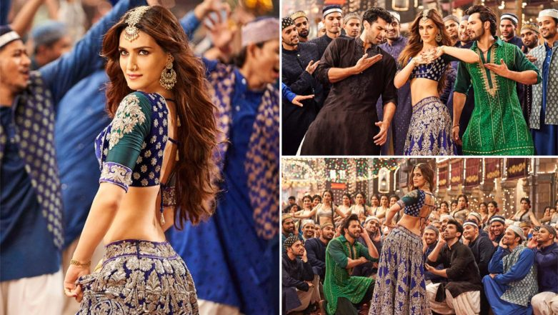 Aira Gaira Song from Kalank: Kriti Sanon's Seductive 'Thumkas' Will Cast a Spell on You (Watch Video)