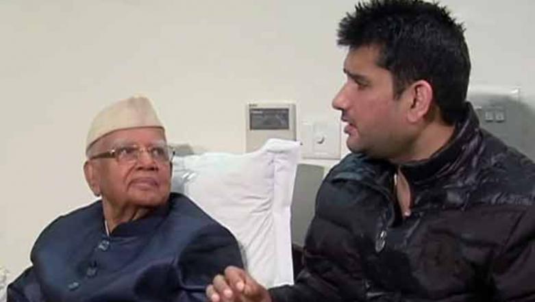 Rohit Shekhar Tiwari Dies: Son of Former UP and Uttarakhand CM ND Tiwari Brought Dead to Delhi Hospital