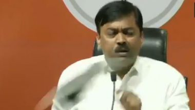 Shakti Bhargava, Who Hurled Shoe at BJP MP GVL Narsimha Rao, Let Off by Delhi Police After Brief Interrogation