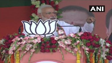 Lok Sabha Elections 2019: People Have to Choose Between Honest and Corrupt Govts, Says Narendra Modi
