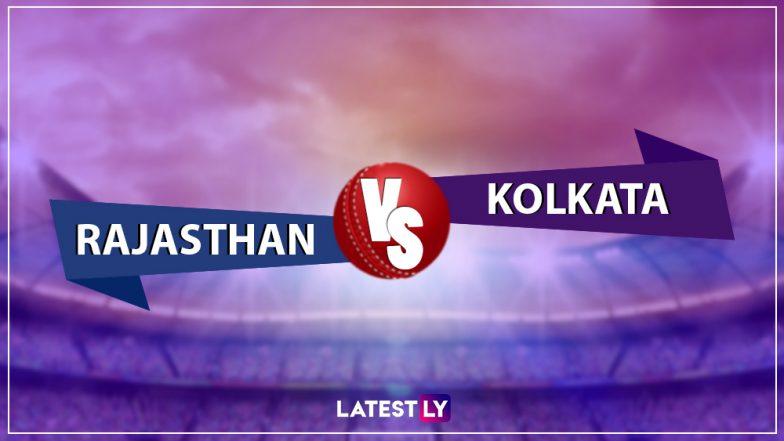 RR vs KKR, IPL 2019 Live Cricket Streaming: Watch Free Telecast of Rajasthan Royals vs Kolkata Knight Riders on Star Sports and Hotstar Online