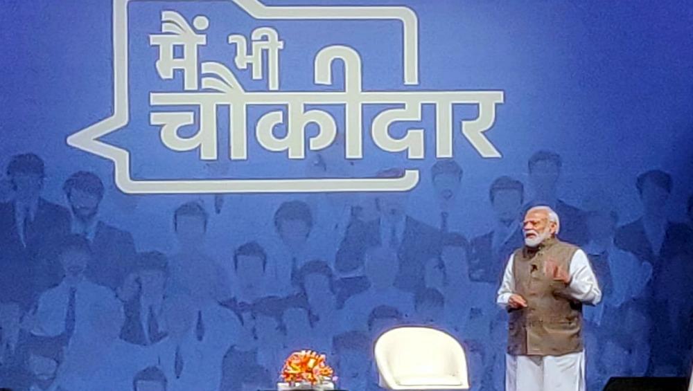 PM Narendra Modi's 'Main Bhi Chowkidar' Campaign Wins Effie Silver 2020