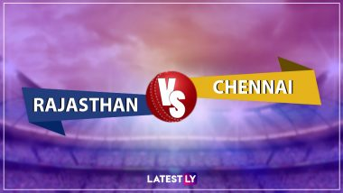 RR vs CSK IPL 2019 Live Cricket Streaming: Watch Free Telecast of Rajasthan Royals vs Chennai Super Kings on Star Sports and Hotstar Online