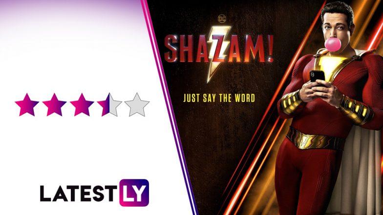 Movie Poster 2019: Shazam Movie Review: Zachary Levi's DC Superhero Film Will