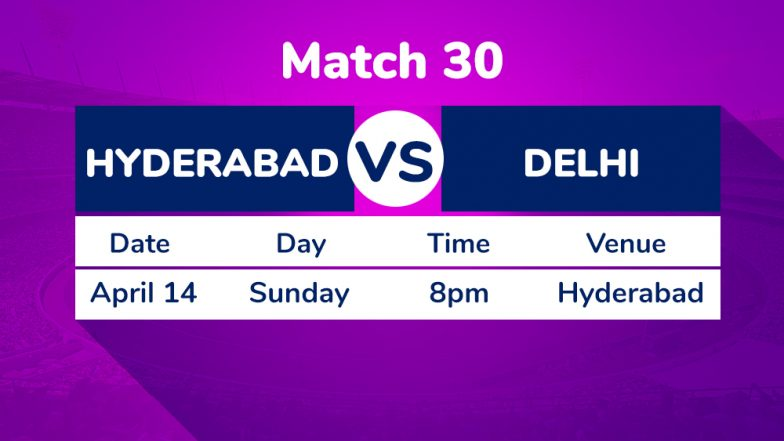 SRH vs DC, IPL 2019 Match 30 Preview: In-Form Delhi Capitals Hold Edge Against Sunrisers Hyderabad
