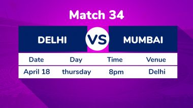 DC vs MI, IPL 2019 Match 34 Preview: Focus on Feroze Shah Kotla Pitch As In-Form Delhi Capitals Play Mumbai Indians