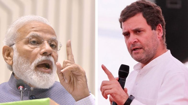 PM Narendra Modi Slams Rahul Gandhi for 'Pretending' to Criticise Sam Pitroda, Says 'He Publicly Said What's in Congress' Heart'