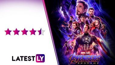 Avengers EndGame Movie Review: Marvel's Superhero Film Is an Emotionally Wrenching, Enriching FanBoy Experience That Goes for Your Heart!