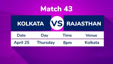 KKR vs RR, IPL 2019 Match 43 Preview: Point to Prove for Dinesh Karthik as Kolkata Knight Riders Take on Rajasthan Royals