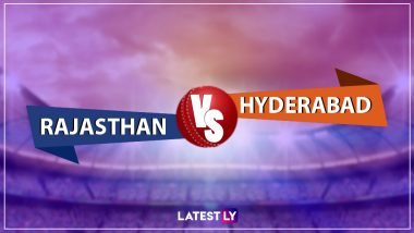 RR vs SRH, IPL 2019 Live Cricket Streaming: Watch Free Telecast of Rajasthan Royals vs Sunrisers Hyderabad on Star Sports and Hotstar Online