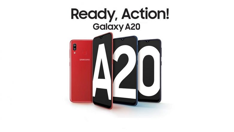 Samsung Galaxy A20 With Super AMOLED Display Now Available For Sale in India; Price, Specifications, Features