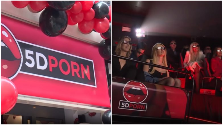 5D Porn Theatre in Amsterdam! Newly Opened XXX Cinema in Red Light District Promises to Please All Your Senses (Watch Video)
