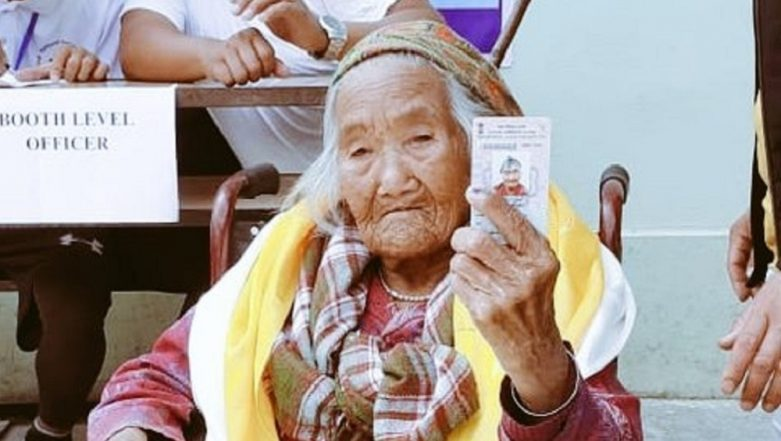 Lok Sabha Elections 2019: Sumitra Rai, 107-Year-Old Woman, Casts Vote in Sikkim