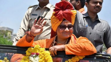 Sadhvi Pragya Thakur's 'Proud to be Part of Babri Masjid Demolition' Remark Lands Her in Row, Election Commission Orders FIR