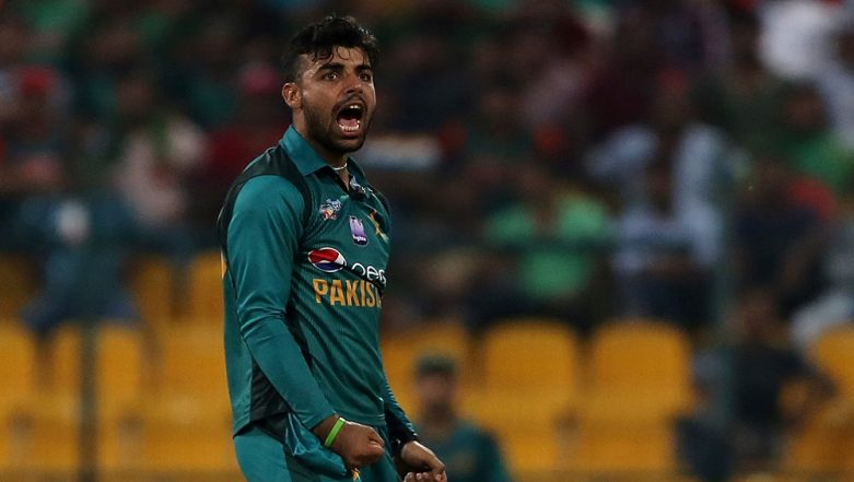 Pakistan Leg-Spinner Shadab Khan Declared Fit For ICC Cricket World Cup 2019