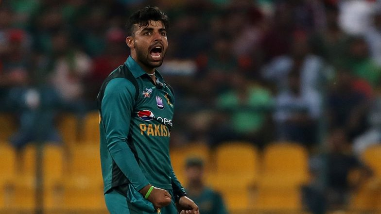 Pakistan Earthquake: Shadab Khan To Donate All His Match Fees From Pakistan vs Sri Lanka 2019 Series For Those Affected