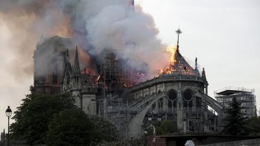 New York Police Department's Tweet on 'Closely Monitoring' Fire at Notre Dame Cathedral in Paris Gets Trolled