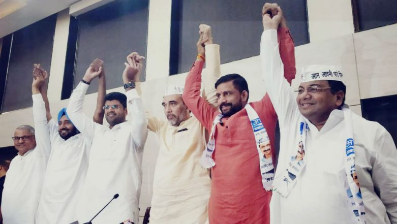 Lok Sabha Elections 2019: AAP Joins Hands With JJP in Haryana After Talks Fail With Congress