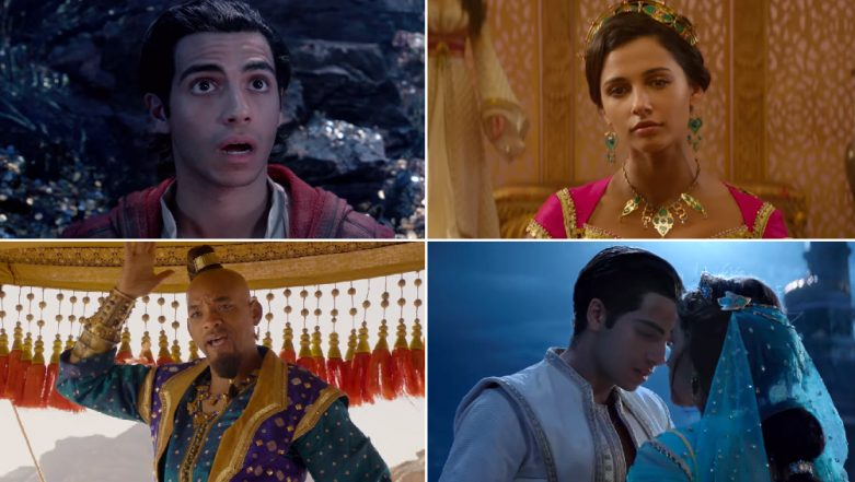 Aladdin Box Office Collection Day 10: Will Smith and Mena Massoud Starrer Does Well in the Second Weekend, Mints Rs 39.65 Crore