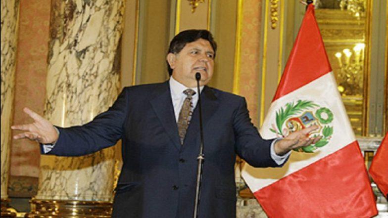 Peru's Former President Shoots Himself Over Possible Arrest