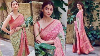 Alia Bhatt Looks So Stunning In A Saree That You Would Want To Take Her Home To Impress Your Mom! View Pic