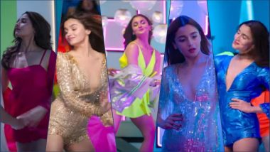 Alia Bhatt's Hot Pics in 'Hook Up' Song From Student of the Year 2: Check Out Her Glam Avatar In Sexy Rompers and Dresses!