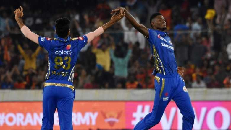 IPL 2019: I Could Not Have Asked for a Better Start, Says Mumbai Indians Pacer Alzarri Joseph