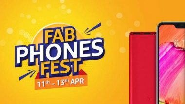 Amazon's Fab Phones Fest Sale 2019: Apple iPhone X, OnePlus 6T & Other Smartphones Will Attract Customers With Huge Discounts During the Sale