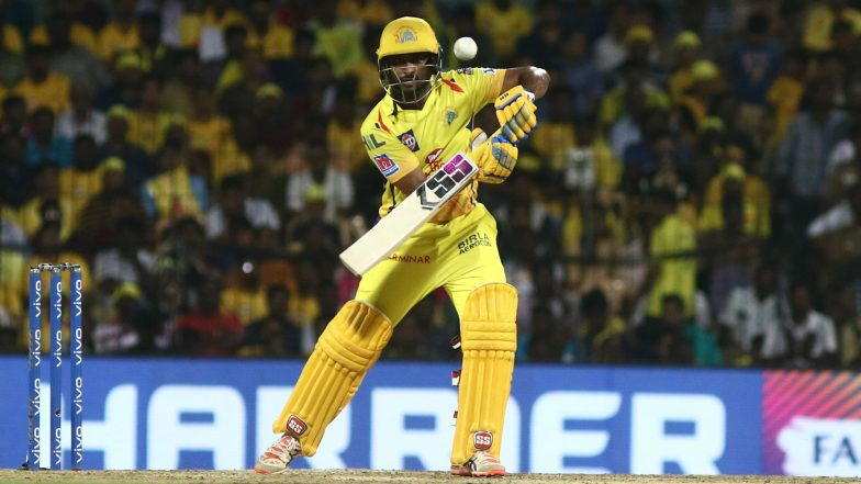Ambati Rayudu in Focus After Facing ICC World Cup 2019 Snub As Unstoppable Chennai Super Kings Take on Sunrisers Hyderabad