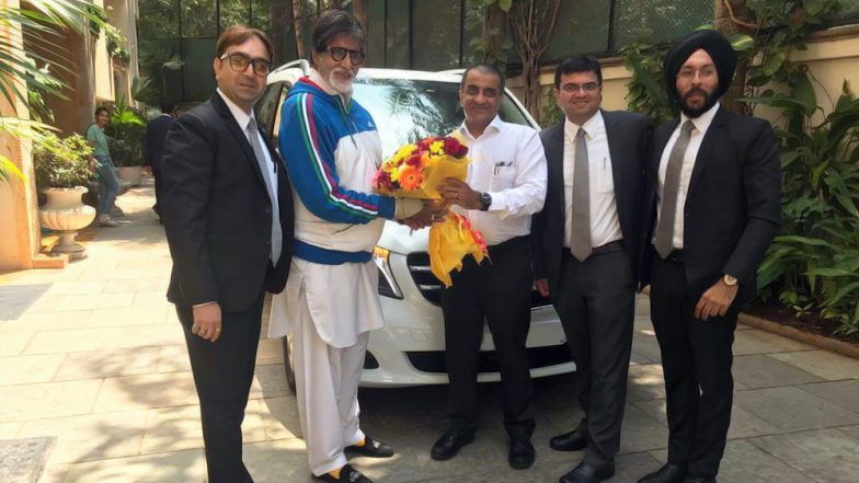 Shahenshah of Bollywood Amitabh Bachchan Gifts Himself A Mercedes-Benz V-Class 'Most Expensive MPV' in India