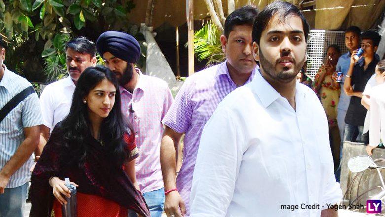 Anant Ambani and Radhika Merchant Spotted in Bandra, View Pics of The 'Rumoured Couple'