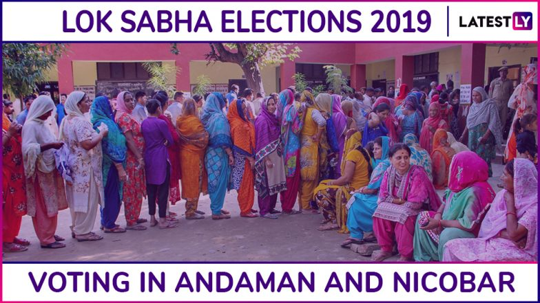 Andaman and Nicobar Lok Sabha Elections 2019: Phase I Voting Ends for Andaman and Nicobar Parliamentary Constituency, 70.67% Voter Turnout Recorded