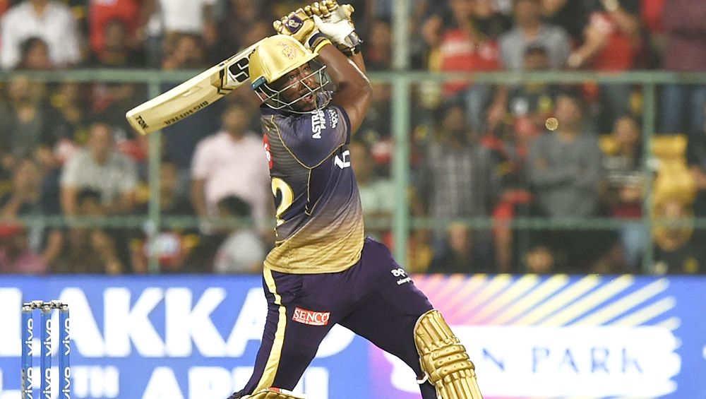 IPL Highlights: When KKR's Andre Russell Destroyed RCB Bowling, Watch Video