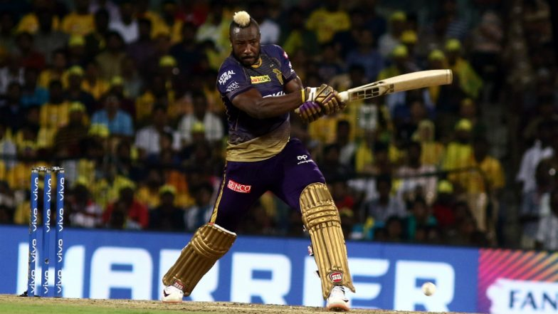 KKR Skipper Dinesh Karthik Hopeful of Andre Russell To Be In Playing XI vs RCB After He Was Hit by Bouncer During Net Practice (Watch Video)