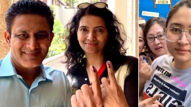 Anil Kumble, Rohan Bopanna, Jwala Gutta Cast Their Votes For Lok Sabha Elections 2019, Urge Citizens To Vote